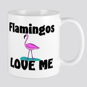 Flamingos Love Me Mug